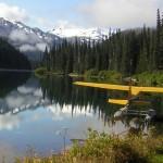 Coles Lake, main camp