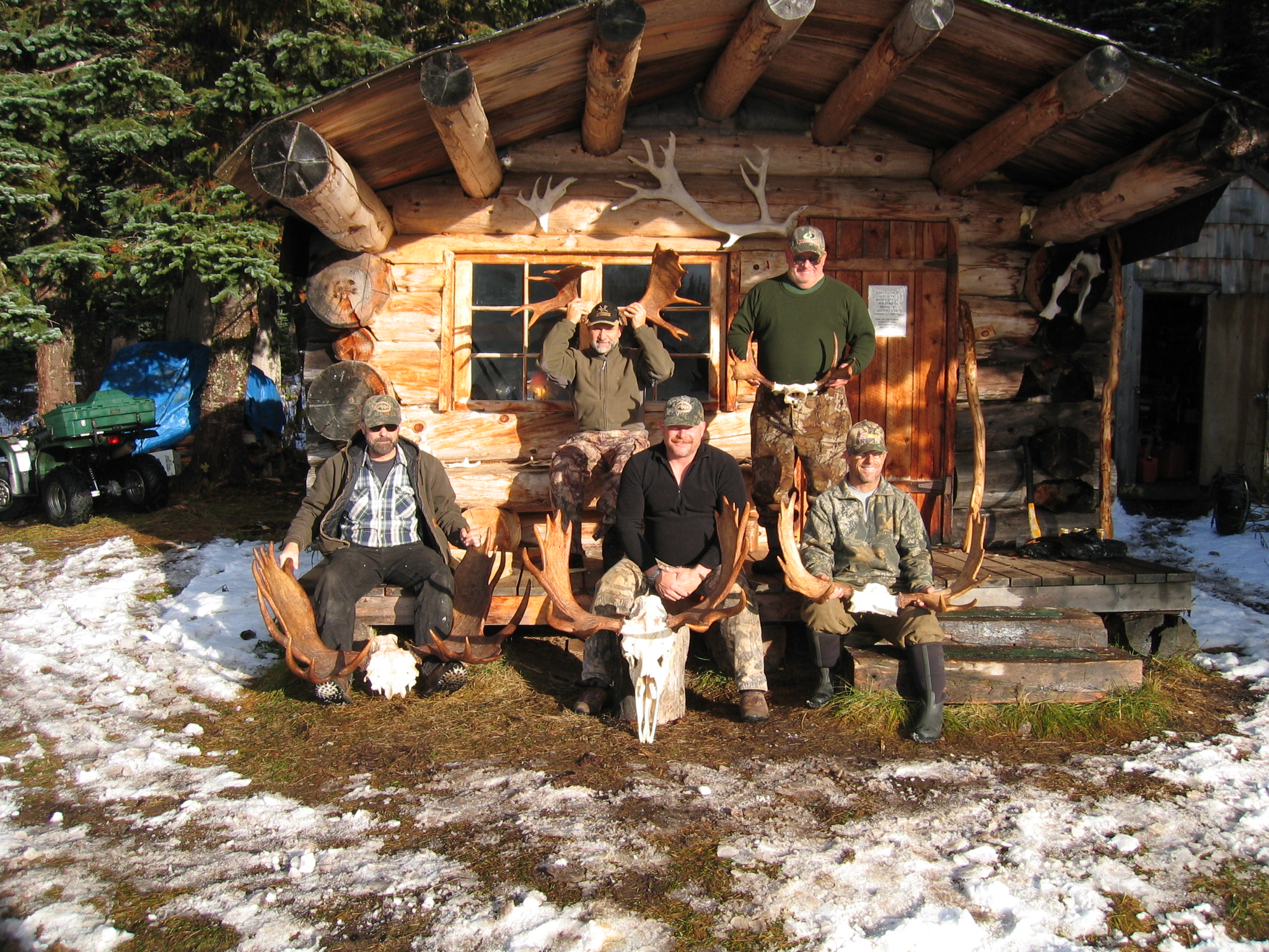 Photos whitesail guides and outfitters for Cabins near hunter mountain